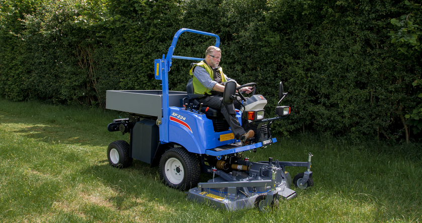 New ISEKI SF224 Outfront Mower