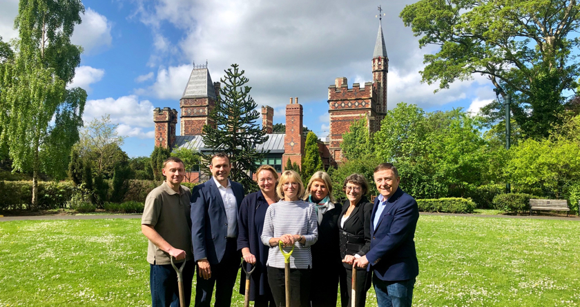 Husqvarna supports charity garden
