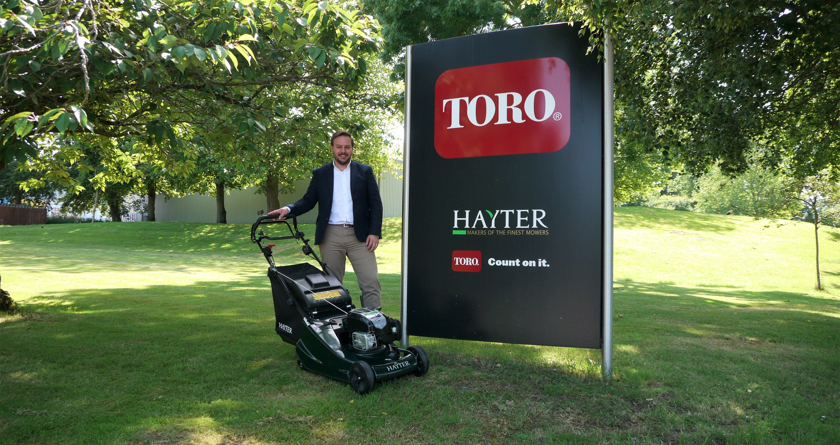 Hayter and Toro appoint new Sales and Marketing Manager