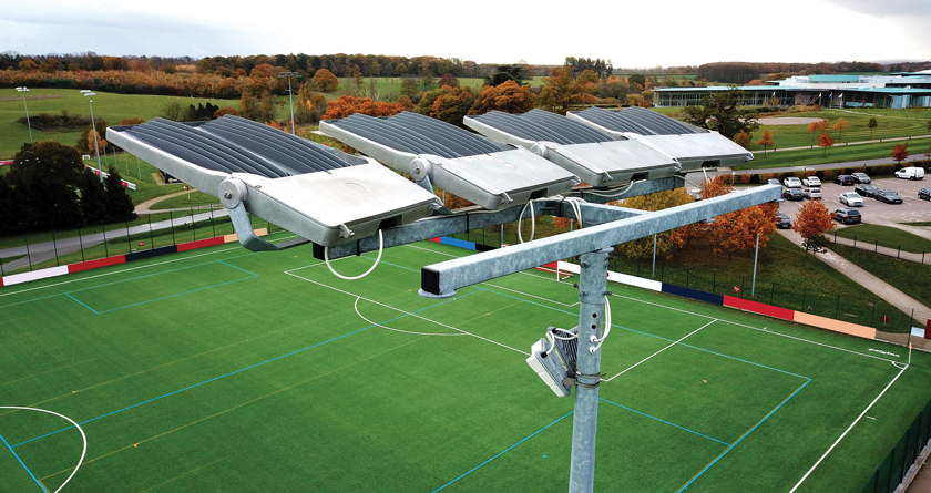 Smart technology for sports pitch management