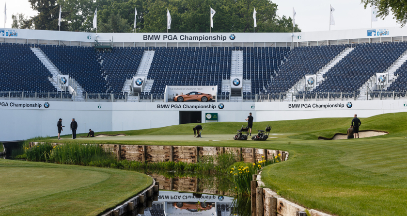 Support team revealed for BMW PGA Championship