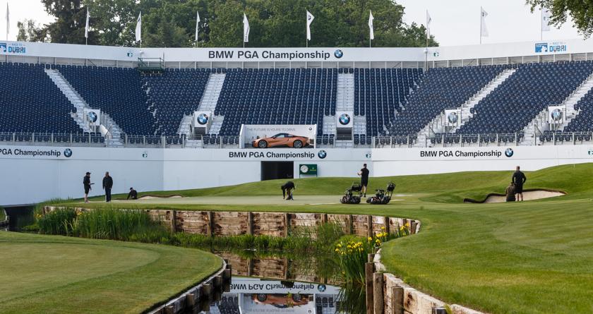 Support team revealed for BMW PGA Championship