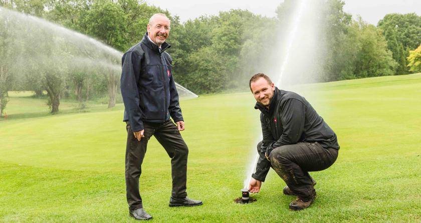 Toro irrigation brings success at Highwoods