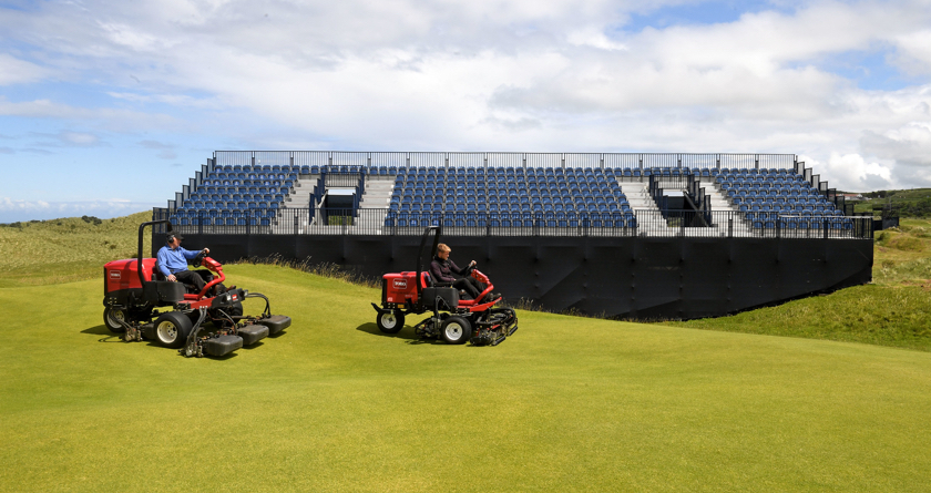 Toro helping to prepare for The Open