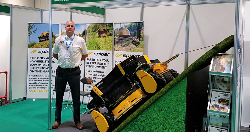 Spider showcased at Health & Safety event