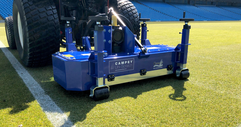 Campey provides synthetic turf maintenance solution