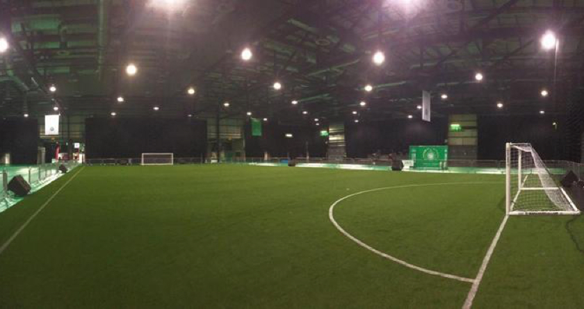 Training academy feature for Celtic FC festival