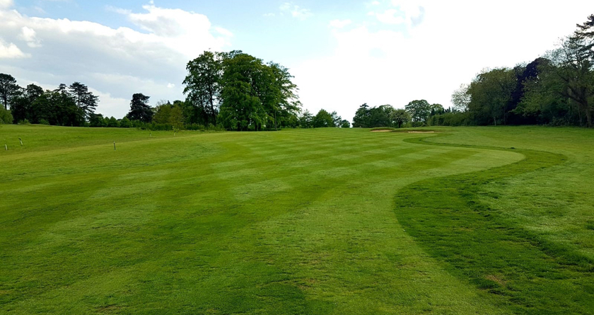 Phenomenal fairway recovery at Aldwick Park