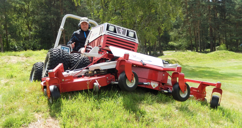 Midlands golf club invests in Ventrac