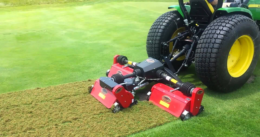 GroundPro MT200 Flex-Verticutter for ALS