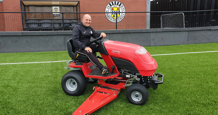 Regular brushing a breeze at St Mirren