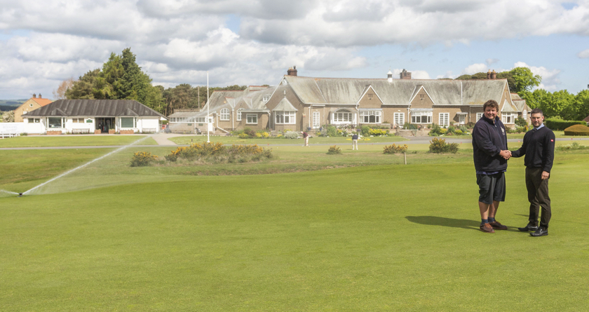 Smoothly does it at Ganton for Toro irrigation