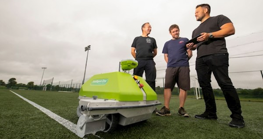 Robot used to line pitches at GAA World Games