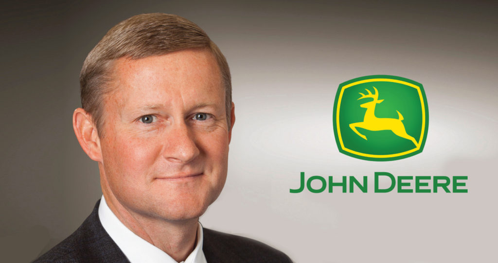 Deere & Company board elects John May as CEO