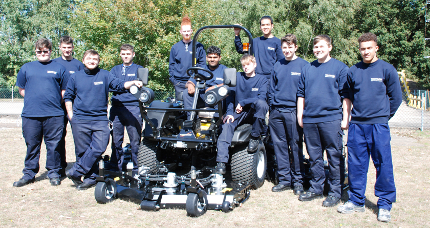 Twelve new engineering apprentices at Ipswich