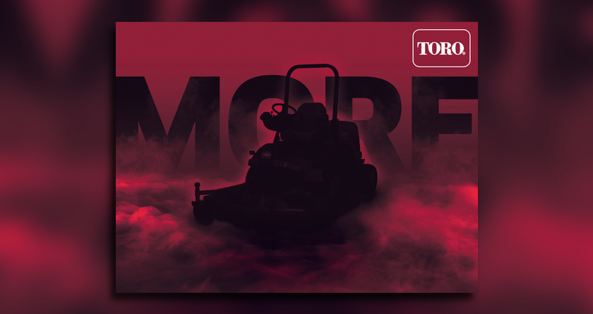 Outfront performance from Toro's new outfront rotary range