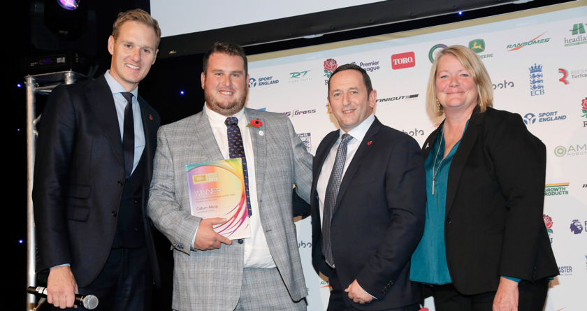 IOG Award for Leicester's Callum Allsop
