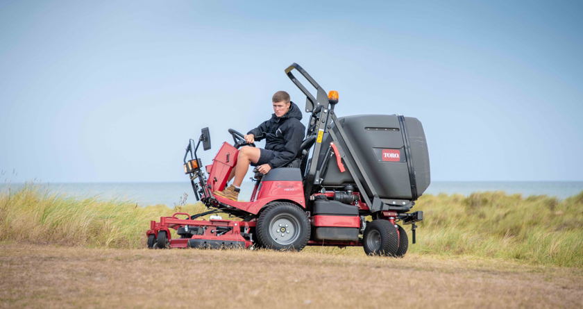 Toro 'best for the job' at Haven Seashore