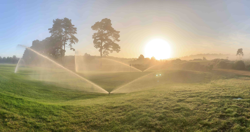 Staying ahead with irrigation at Hankley Common