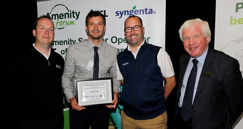 Amenity Sprayer Operator of the Year Award
