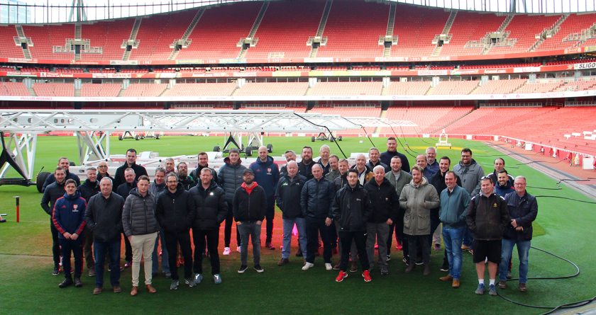 Tour of the Emirates Stadium with DLF