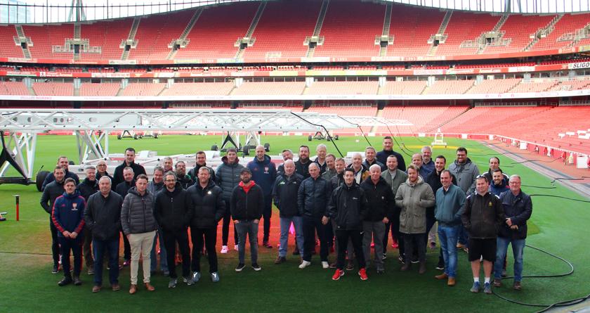 Tour of the Emirates Stadium with DLF