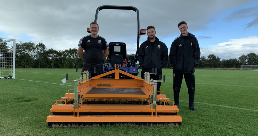SISIS keeps turf healthy at Colliers Park