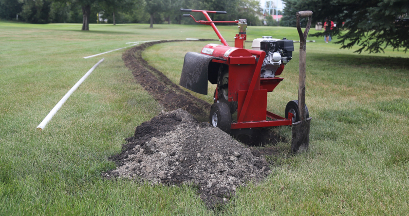Safe and highly efficient option for mini-trenching