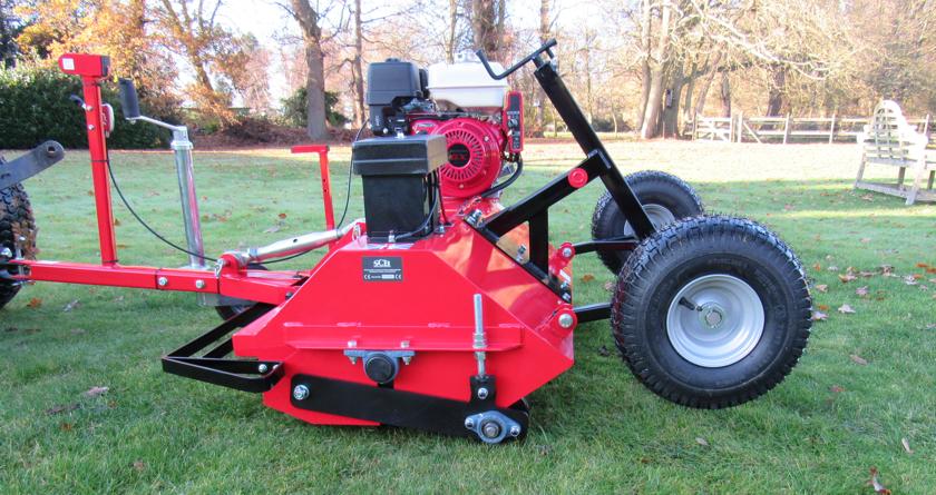 The SCH FM48 flail mower