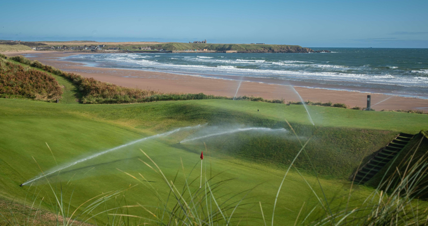 Three phase solution for Cruden Bay irrigation