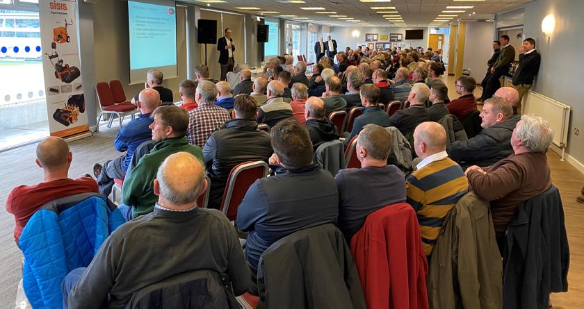 An inspirational Dennis & SISIS groundcare seminar