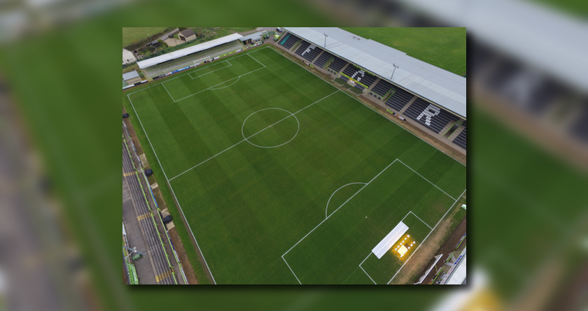 GrasPro Pitch Management System Vital Tool at Forest Green Rovers FC