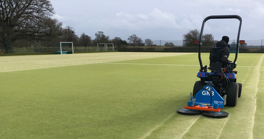 GKB Rotobrush takes prestigious preparatory school's grounds to the next level