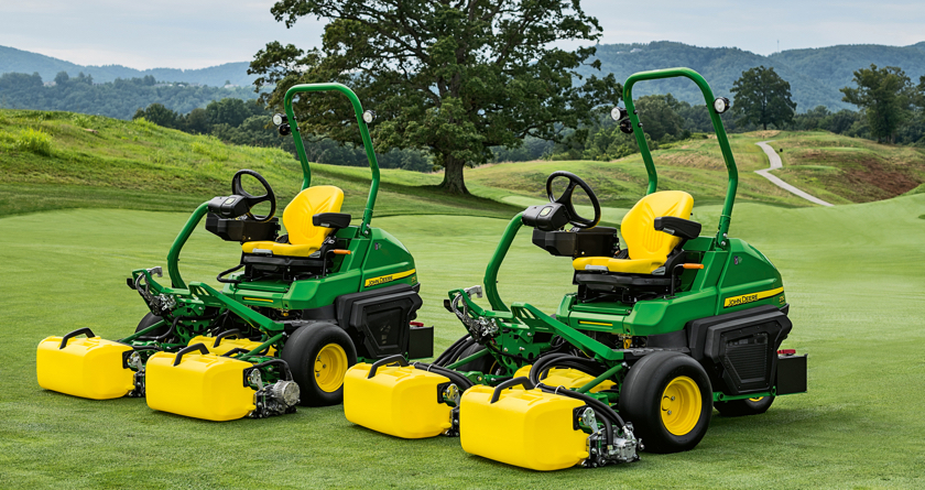 New John Deere greens mowers win AE50 Award