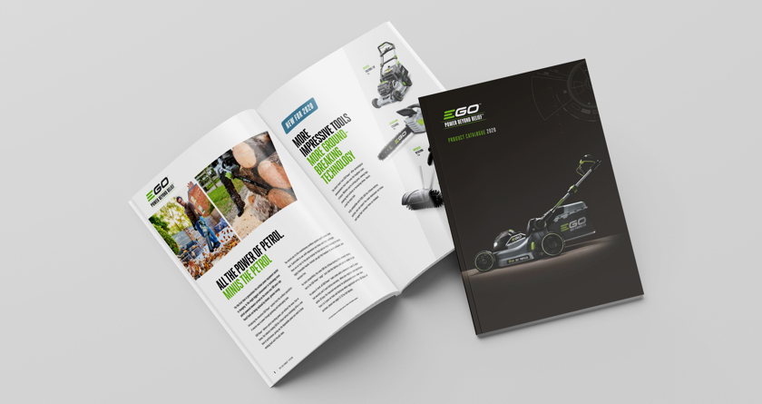 EGO's commitment to a greener future in 2020 catalogue