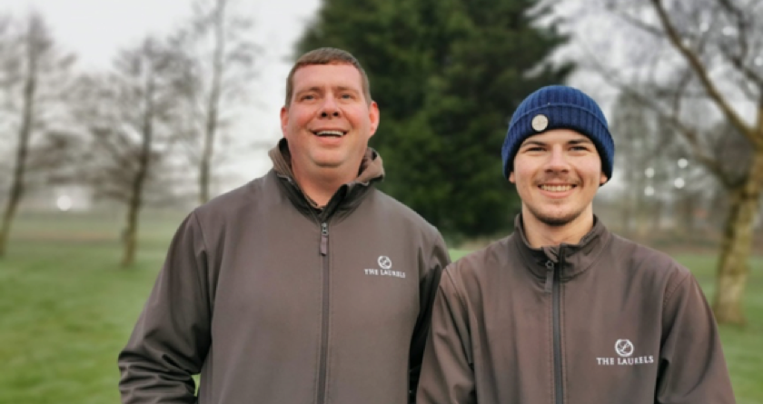 No resting on his Laurels for Greenkeeping Apprentice Callum