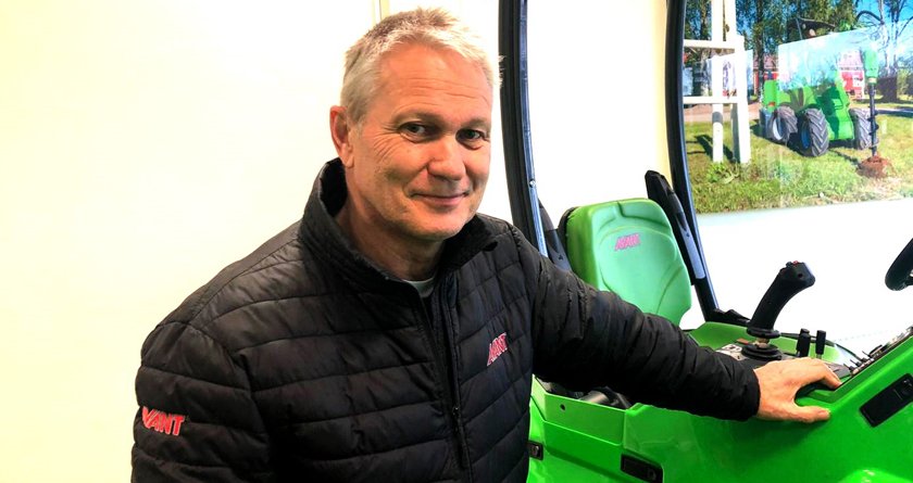 Peter Barfield appointed by  AVANT UK