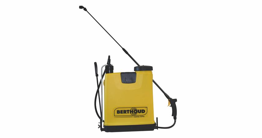 The Berthoud Cosmos 18 Pro – a star-studded knapsack sprayer