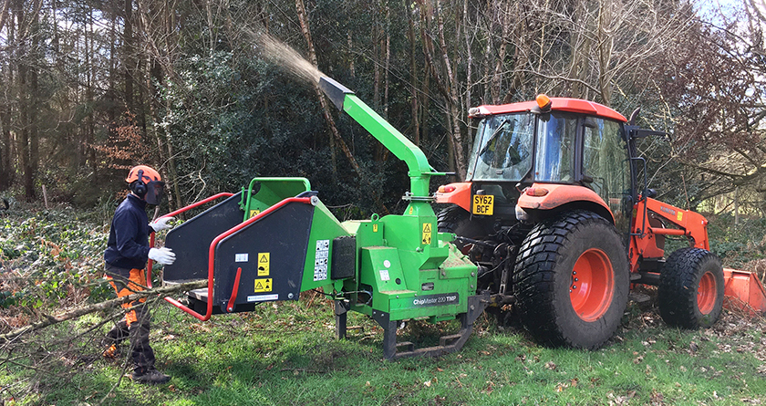 GreenMech woodchipper improves productivity at Wildernesse Golf Club