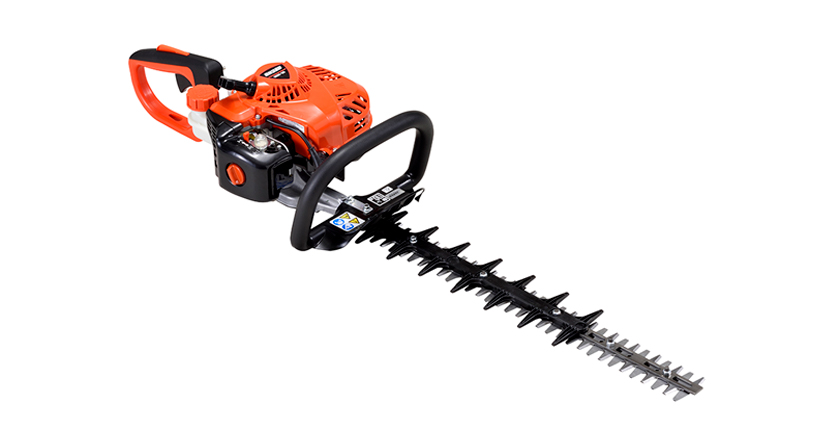 New lighter weight, reduced emission ECHO hedgetrimmers
