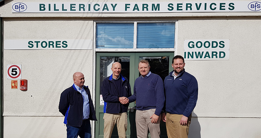 Billericay Farm Services join forces with Martin Lishman