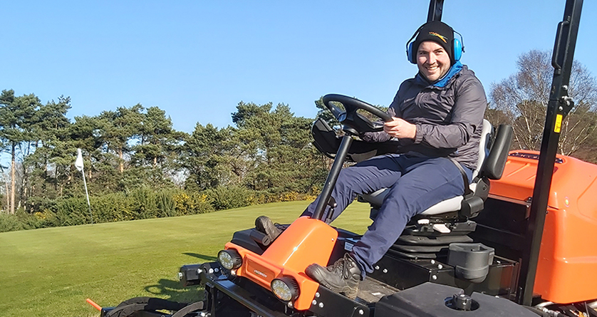 Ransomes Jacobsen appoint Marcus Fuller as new greenkeeper