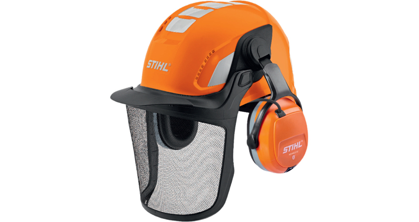 Keep connected with STIHL Advance BT Helmet