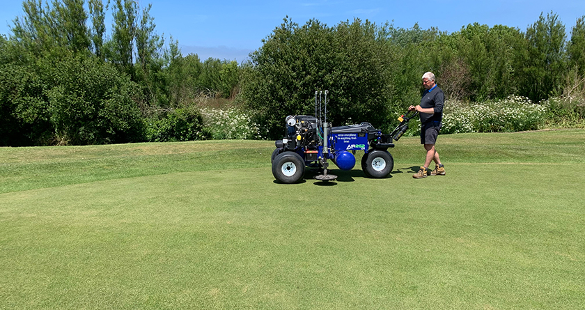 Air2G2 proves to be a 'game changer' at La Grande Mare Golf Club