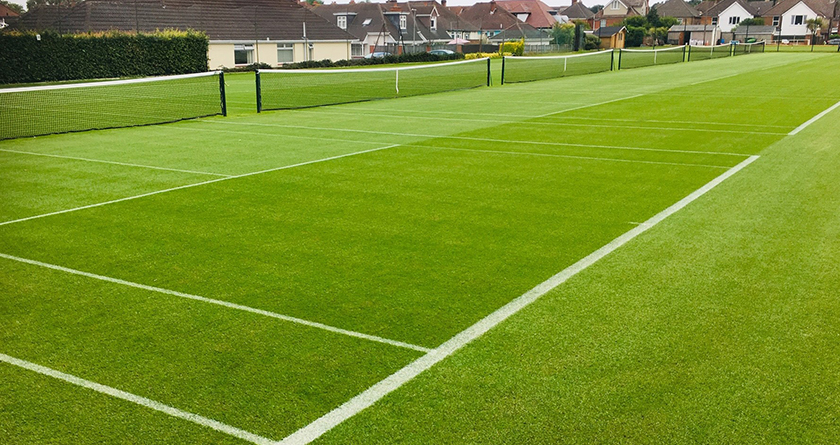 PM36 serves up competition ready courts for East Dorset Tennis Club