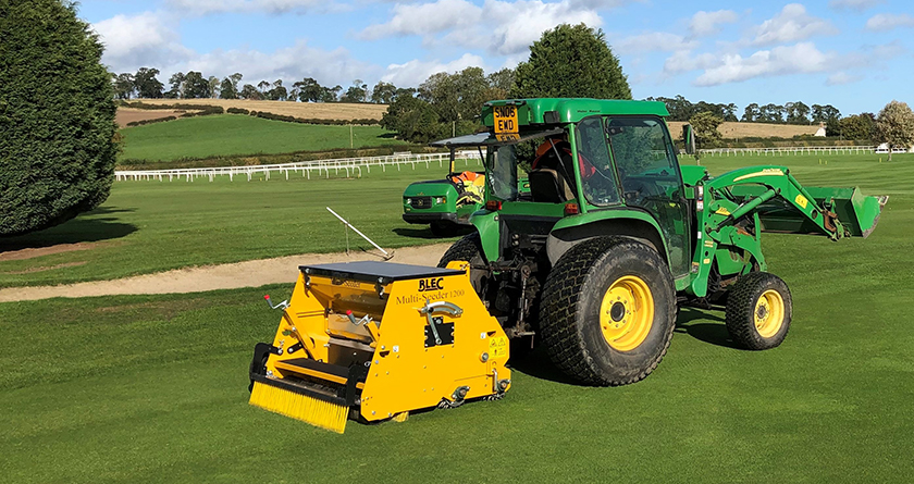 Overseeding transformed for Kelso GC thanks to BLEC Multi-Seeder