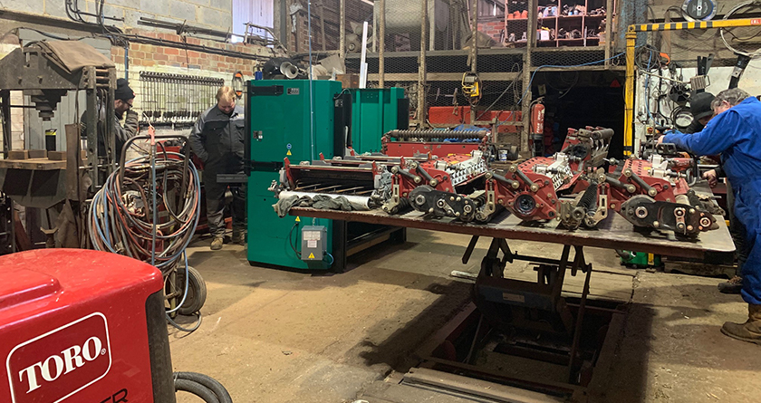 Starnes Engineering experiences benefits of using Foley Company 633 Accu-Pro