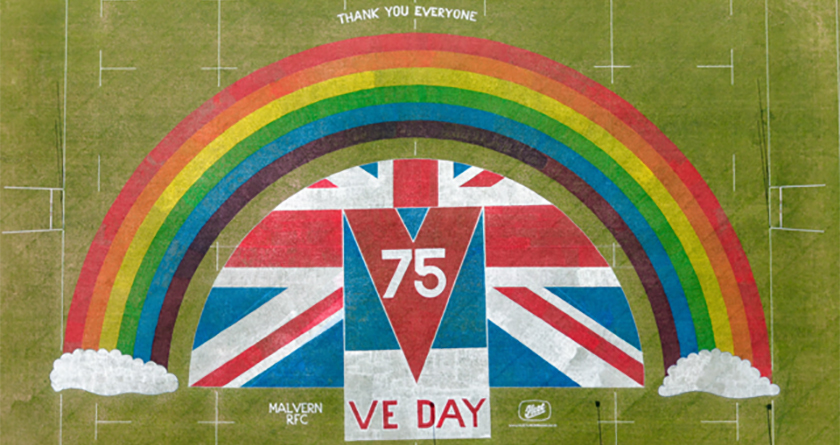 Fleet do their bit with VE Day tribute