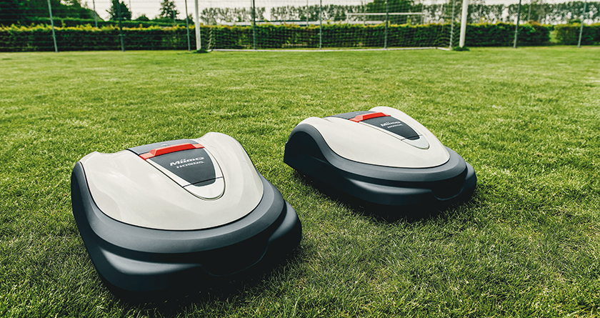Honda Multi Miimo enables teams of robotic lawnmowers to work speedily together