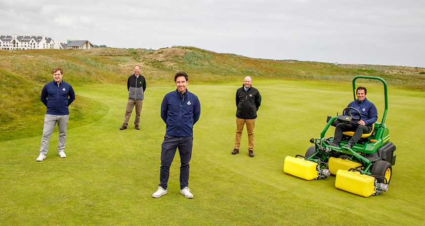 Carnoustie Golf Links and John Deere partnership announced